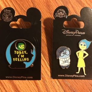 Disney Inside Out pin lot